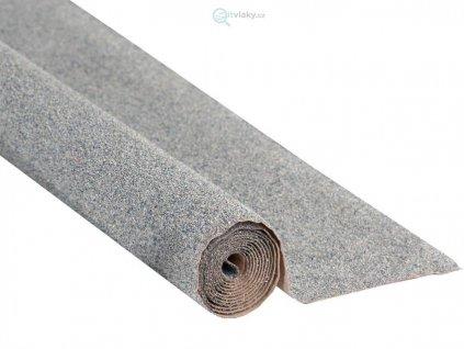 Koberec štěrk šedý 120 x 60 cm, pod koleje / NOCH 00080