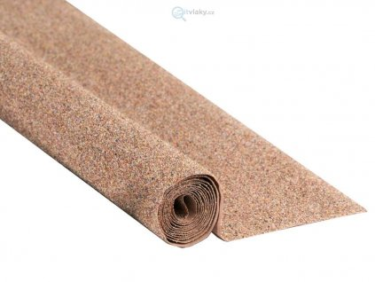 Koberec štěrk béžový, hnědý 120 x 60 cm / NOCH 00090