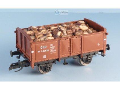 TT - Náklad špalků do dvou vozů O PMT / Veramo 010141