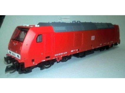 TT - Dieselová lokomotiva TRAXX DB AG ze setu/ TILLIG 01437