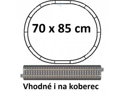 231025 tt zakl set koleji 70x85 s podlozim betonove prazce oval r310 tillig 01830