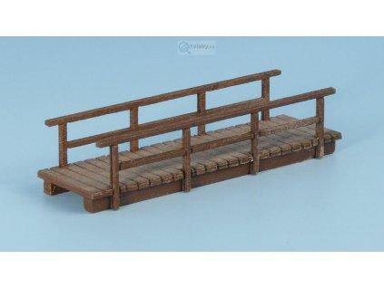 TT - Dřevěný most úzký, krátký - světlý / Veramo 020201