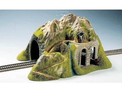 H0 - Tunel, 1-kolejný, rovný / NOCH 02220