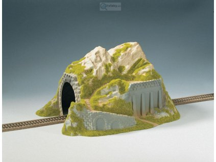 H0 - Tunel, 1-kolejný, rovný / NOCH 02221