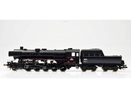 TT - Parní lokomotiva řady 555.0, ČSD, s ušima /  TILLIG 02269