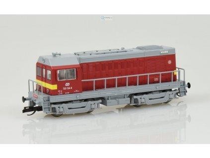 TT - dieselová lokomotiva 720 ČD, HEKTOR / Tillig 02623