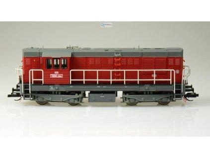 ARCHIV TT - Dieselová lokomotiva T466.2 (742) ČSD, KOCOUR / Tillig 02750
