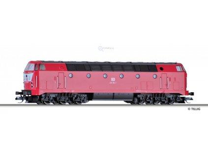 ARCHIV TT - Dieselová lokomotiva BR 219, DB AG / TILLIG 02792
