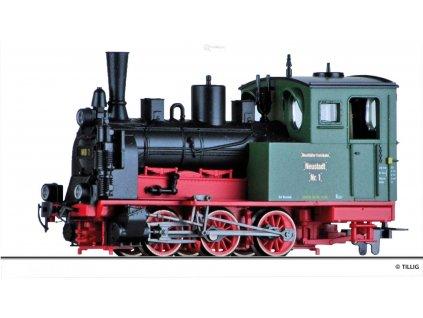 """H0m - parní lokomotiva č. 1 """"Neustadt"""" NKB / Tillig 02913"""