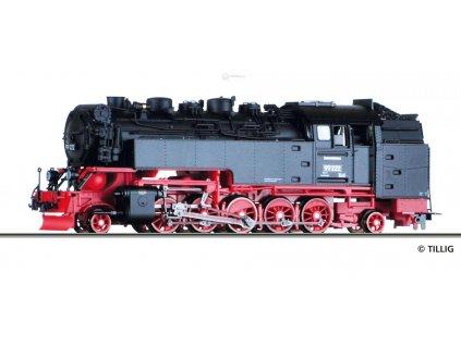 H0m - Parní lokomotiva 99 222 DR / Tillig 02928