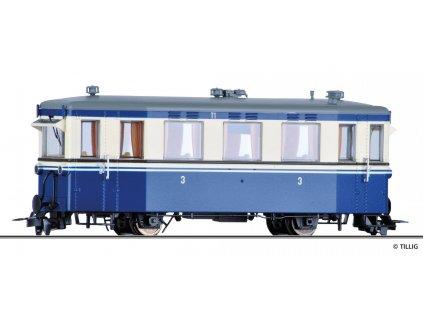 H0m - Motorový vůz T1, MEG / Tillig 02941