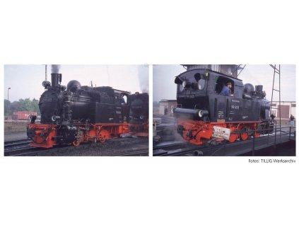 H0e - Parní lokomotiva 99 4101, HSB / Tillig 02972