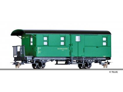 H0e - služební vůz KPw, NKB / TILLIG 03954