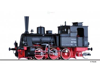 TT - DCC parní lokomotiva BR 89.70, DB / TILLIG 04241