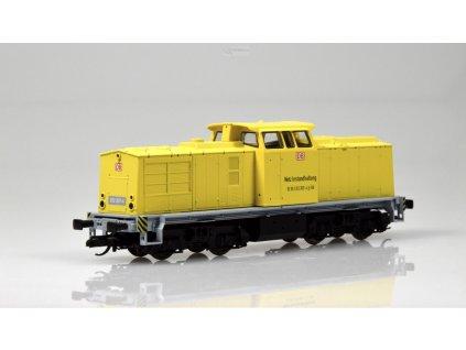 "TT - Dieselová lokomotiva 203 ""Bahnbau"" START, DB AG / Tillig 04598"