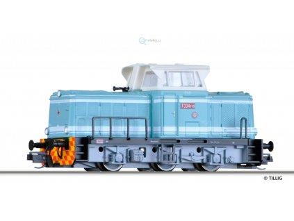 TT - dieselová lokomotiva T334.010 zelená, ČSD rosnička / TILLIG 04615