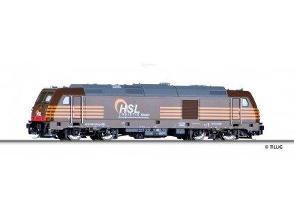 TT -  lokomotiva TRAXX 285 103-8 HSL Logistik GmbH  / TILLIG 04938