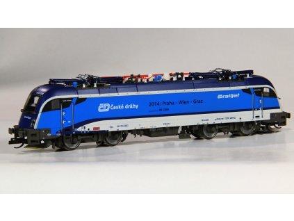 ARCHIV TT - Lokomotiva Taurus 1216 235, ČD Railjet, OBB / Tillig 04962