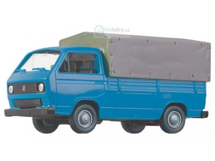 H0 - auto VW T3 dodávka s plachtou/ Roco 05361