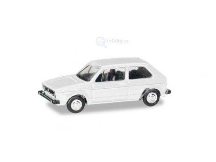 TT - Volkswagen Golf I., bílá / Herpa 066600