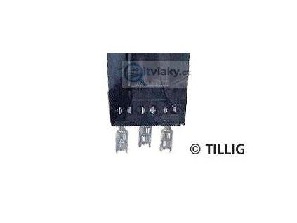 TT - el. konektory 15 ks ( až pro 5 BTTB přestavníků)  / Tillig 07941