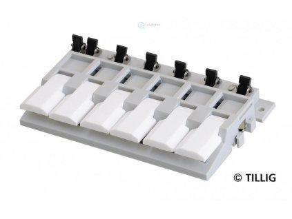 ovládací klávesnice pro výhybky a úseky TASTENPULT / Tillig 08211