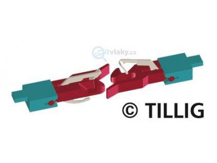 TT - spřáhlo nové s tyčinkou, šachta NEM, 56ks / TILLIG 08841