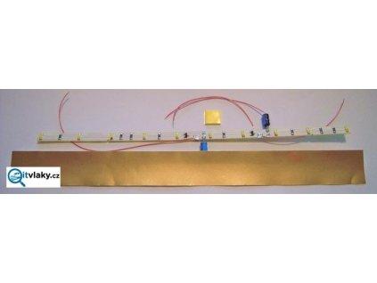 Univerzální vnitřní osvětlení  BÍLÁ 125-210mm / Říha 08859W