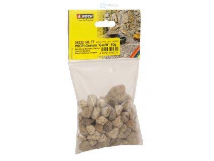 Přírodní kamínky PROFI, hrubší 6 -16 mm, 80 g / Noch 09232