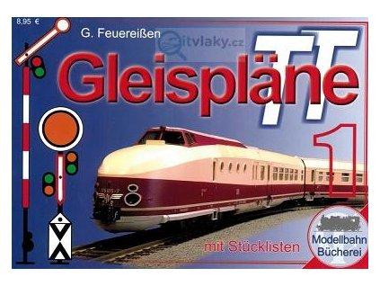 TT Plánky kolejišť pro začátečníky německy /  Tillig 09602