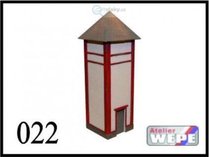 H0 - Trafostanice bez přístavku 022 / AWEPE model 10043