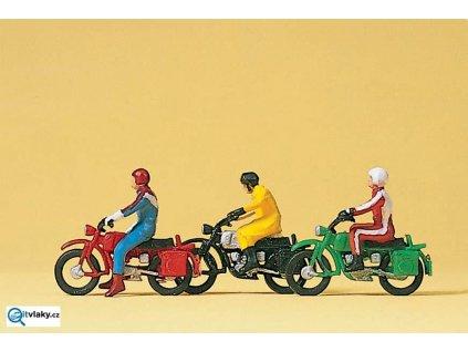 H0 - Motorkáři / Preiser 10081