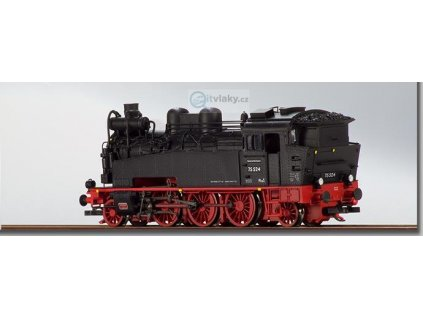 TT - Parní lokomotiva BR 75.524 Dresden / Glauchau DR / Beckmann 1010601