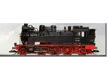 TT - parní lokomotiva BR 75 539 Dresden / Karl-Marx-Stadt DR / BECKMANN 1010602