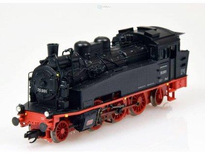 TT - parní lokomotiva BR 75 501 DR Cottbus/Zittau/ BECKMANN 1010605