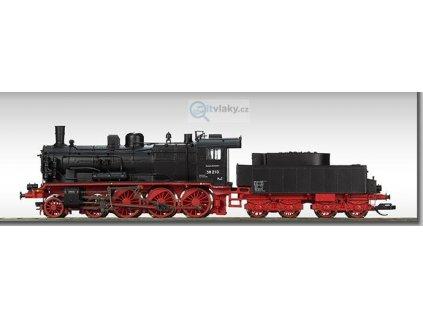 TT - parní lokomotiva BR 38 210 DR / BECKMANN 1018308