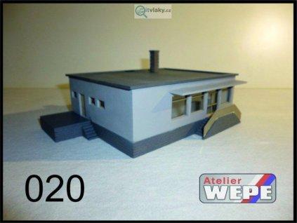 """N - Budova prodejny ,,Jednota"""" 020 / AWEPE model 10220"""