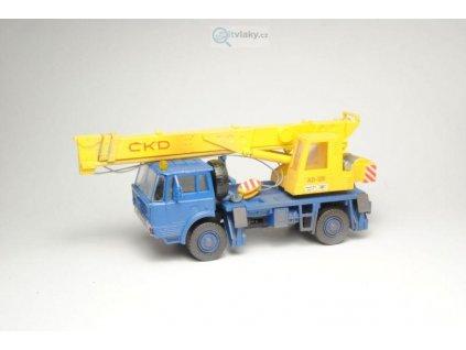 H0 - stavebnice jeřábu Tatra 813 4x4 AD125 / SDV MODEL 103