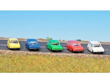 TT - Set pěti osobních vozů Lada Combi / Schirmer 10480