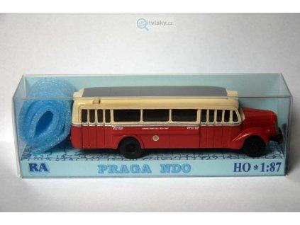 H0 - Praga NDO červeno/bílá / RA Došlý 105000