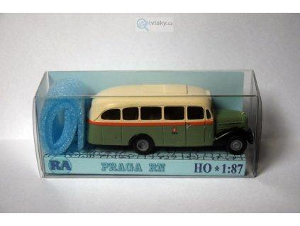 H0 - Praga RN dlouhá zeleno/bílá / RA Došlý 105401