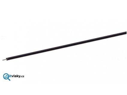 jednopólový černý kabel, 10 m - 0,7 mm2 / ROCO 10630