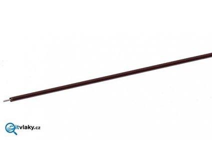 jednopólový hnědý kabel, 10 m - 0,7 mm2 / ROCO 10631
