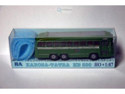 H0 - Tatra Karosa HB 500 zelený / RA Došlý 108000