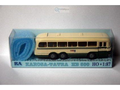 H0 - Tatra Karosa HB 500 zeleno/bílý / RA Došlý 108104