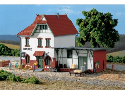 "H0 - nádraží ""Goyatz"" / Auhagen 11347"