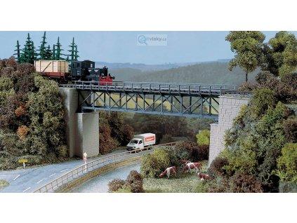 H0 - Železniční příhradový most / Auhagen 11364