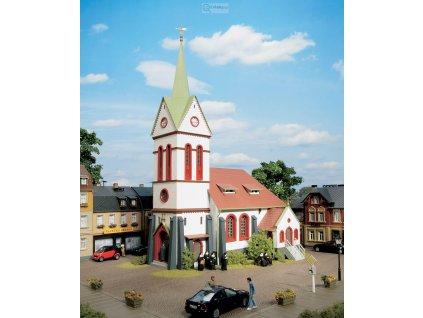 H0 - Kostel, stavebnice / Auhagen 11370