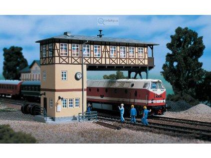 H0 - Stavědlo, pro dvě koleje / Auhagen 11386