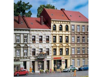 H0 - Městský dům Schmidstraße 17/19 / Auhagen 11393